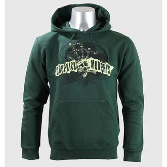 hoodie muški Dropkick Murphys - Mohikanac Skull - Zelen Boca - KINGS ROAD, KINGS ROAD, Dropkick Murphys