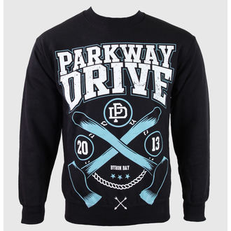 hoodie muški Parkway Drive - Axe - Crno - KINGS ROAD, KINGS ROAD, Parkway Drive