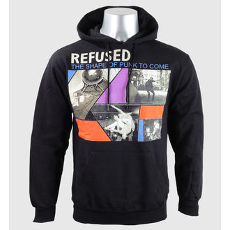 hoodie muški Rufused - The Oblikujte Od Punk - Crno - KINGS ROAD, KINGS ROAD, Refused