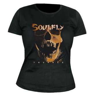 Majica ženska Soulfly - Savages - NUCLEAR BLAST, NUCLEAR BLAST, Soulfly