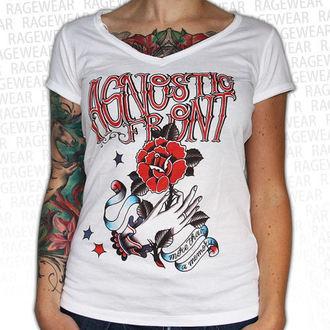 Majica ženska Agnostic Front - Memorija - Bijelo - RAGEWEAR, RAGEWEAR, Agnostic Front