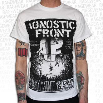 Majica muška Agnostic Front - Old School - Bijelo - RAGEWEAR, RAGEWEAR, Agnostic Front