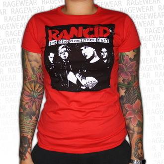 Majica ženska Rancid - Dominoes - Crven - RAGEWEAR, RAGEWEAR, Rancid