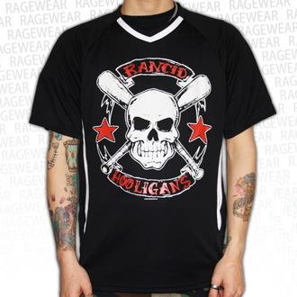 Majica muška (dres) Rancid - Hooligans Velik Skull - Crno - RAGEWEAR, RAGEWEAR, Rancid