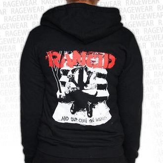 hoodie ženski Rancid - Wolves - Crno - RAGEWEAR, RAGEWEAR, Rancid