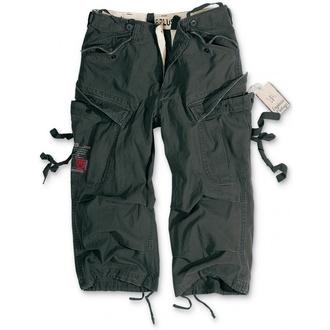 Kratke hlače 3/4 muške SURPLUS - Vintage - Black, SURPLUS