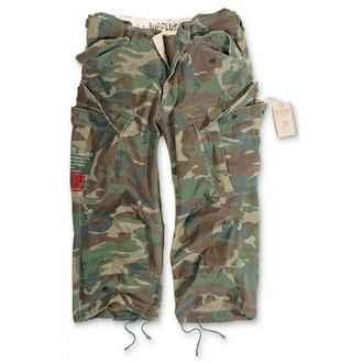 Kratke hlače 3/4 muške SURPLUS - Vintage - Woodland, SURPLUS