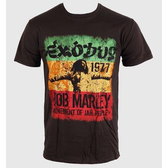 Majica muška Bob Marley - Movement Dk - Brwn, ROCK OFF, Bob Marley