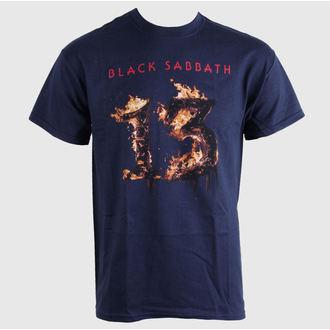 Majica muška Black Sabbath - 13 Novi Album - NAVY plava- BRAVADO EU, BRAVADO EU, Black Sabbath