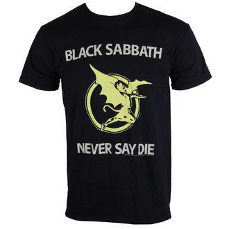Majica muška Black Sabbath - Never Reći Umrijeti - Crno - BRAVADO EU, BRAVADO EU, Black Sabbath