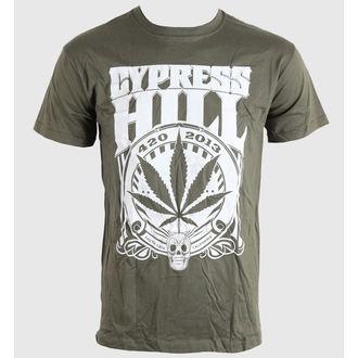 Majica muška Cypress Hill - 420 2013 - Žutomrk - BRAVADO EU, BRAVADO EU, Cypress Hill