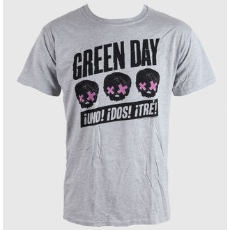 Majica muška Green Day - Glave Better Than - Siva - BRAVADO EU, BRAVADO EU, Green Day