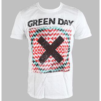 Majica muška Green Day - Xllusion - Bijelo - BRAVADO EU, BRAVADO EU, Green Day