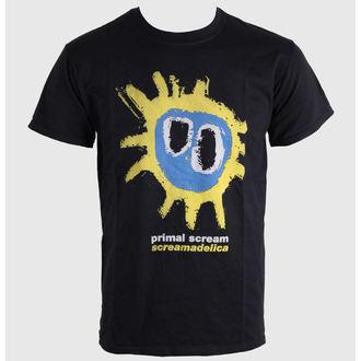 Majica muška Prvobitan Scream Screamadelica - Žut - BRAVADO EU, BRAVADO EU