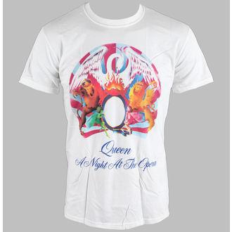 Majica muška Queen - A Noć Na The Opera - Bijelo - BRAVADO EU, BRAVADO EU, Queen