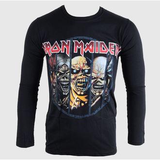 Majica muška dugi rukav Iron Maiden - Eddie Evolution - BRAVADO EU, BRAVADO EU, Iron Maiden
