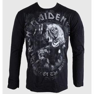 Majica muška dugi rukav Iron Maiden - NOTB - Siva - BRAVADO EU, BRAVADO EU, Iron Maiden