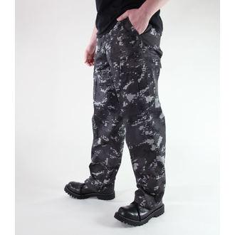 hlače muške MIL-TEC - Sjedinjene Države Forestr Crijevo - Crno Digital, MIL-TEC