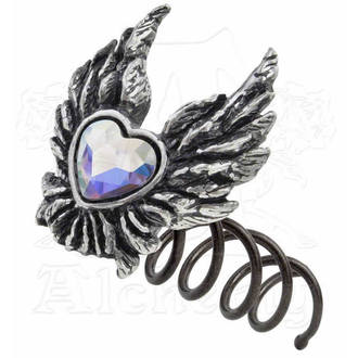 kopča za kosu Heart od an Angel - ALCHEMY GOTHIC