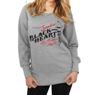 hoodie ženski BLACK HEART - Smokins, BLACK HEART