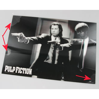 slika 3D Pulp Fiction - Guns - Pyramid Plakati - PPL70097, PYRAMID POSTERS