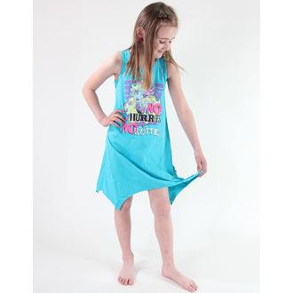 haljina djevojčice TV MANIA - Monster Visok - Turquise, TV MANIA