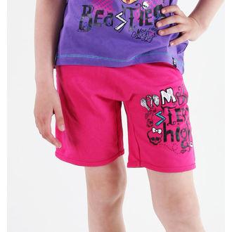 kratke hlače djevojčice Monster Visok - Pink, TV MANIA