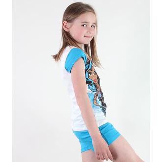 pidžama djevojčice TV MANIA - Monster Visok - Bijela / Plava, TV MANIA