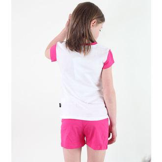 pidžama djevojčice TV MANIA - Monster Visok - White / Pink, TV MANIA