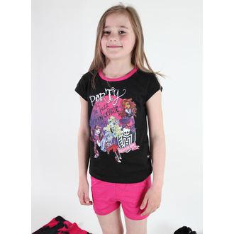 pidžama djevojčice TV MANIA - Monster Visok - Crno, TV MANIA