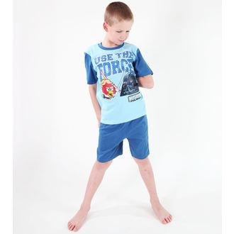 pidžama dečki TV MANIA - Angry Birds - Turquise, TV MANIA