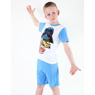 pidžama dečki TV MANIA - Angry Birds/Star Ratovi - Bijelo, TV MANIA