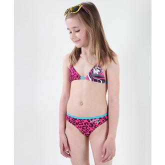 kupaći kostim djevojčice TV MANIA - Monster Visok - Pink, TV MANIA