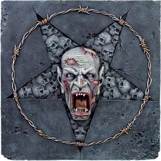 reljef Skull Pentagram