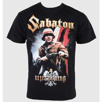 Majica muška Sabaton - Ustanak - Crno, CARTON, Sabaton