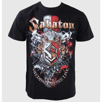 Majica muška Sabaton -Swedisch Empire Live - Crno, CARTON, Sabaton