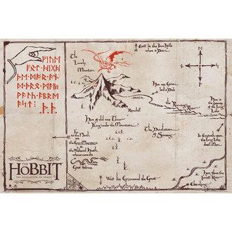 plakat The Hobbit - Mountain Karta, GB posters