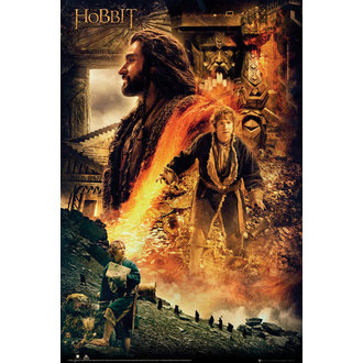 plakat The Hobbit - Desolation od Smaug Fire, GB posters