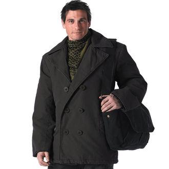 Zimska jakna muška ROTHCO - PEA COAT - Crno, ROTHCO