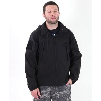 jakna muška proljeće / jesen (softshell) ROTHCO - POSEBNA OPS - Crno, ROTHCO