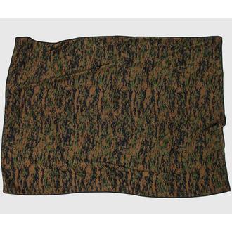 Pokrivač ROTHCO - BLANKET - WOODLAND DIGITAL CAMO, ROTHCO