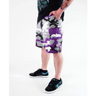 kratke hlače muške ROTHCO - BDU KRATKO P/C - ULTRA VIOLET CAMO, ROTHCO