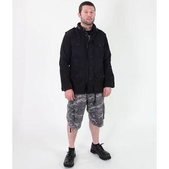 jakna muška proljeće / jesen ROTHCO - Lak VINTAGE M-65 - Crno, ROTHCO