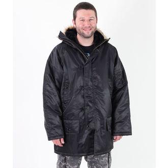 Zimska jakna muška ROTHCO - N-3B PARKA - Crno, ROTHCO