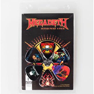 picks Megadeth - PERRIS Kožne hlače, PERRIS LEATHERS, Megadeth