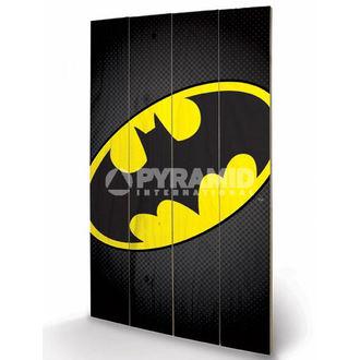 drven slika DC Comics - Batman Simbol - PYRAMID POSTERS, PYRAMID POSTERS