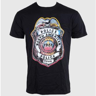 Majica muška THE POLICIJSKA - SHIELD - Crno - LIVE NATION, LIVE NATION, Police