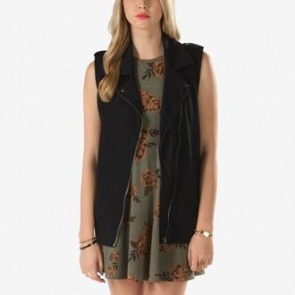 Majica bez rukava ženska VANS - Glimmer - Crno, VANS