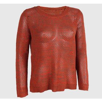džemper ženski VANS - Maynard - Narančastasto / Mocha, VANS