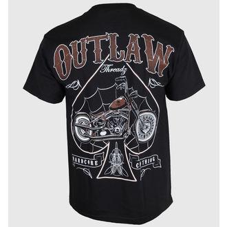 Majica muška Outlaw Threadz - Spade, OUTLAW THREADZ